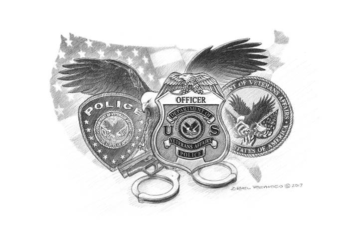 Federal Law Enforcement Prints Abel Reynoso Police Military Art